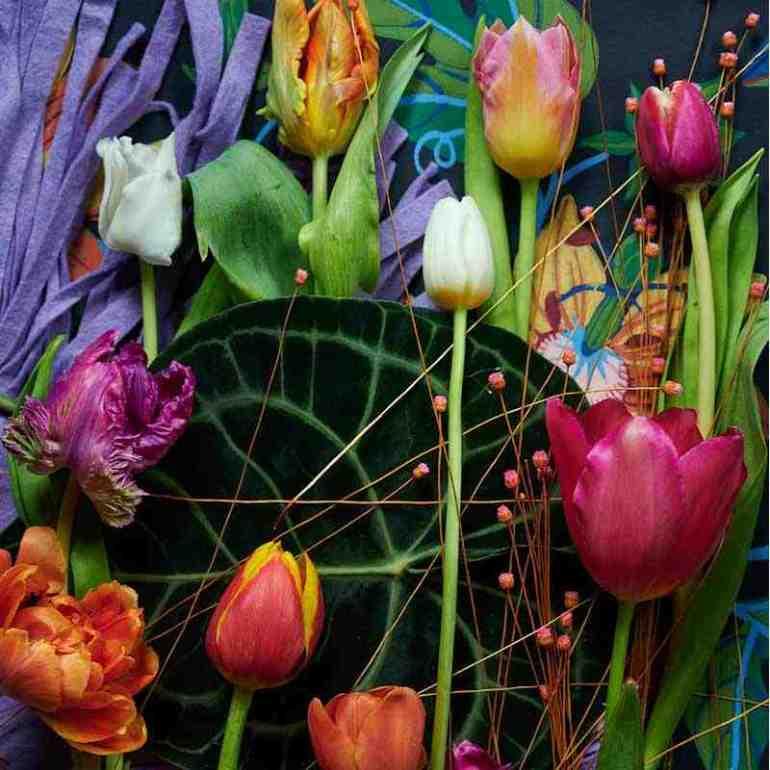 Kleurig aanbod van tulpen van mooiwatbloemendoen.nl